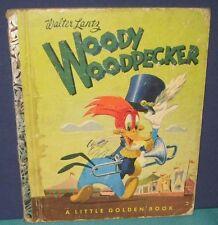 "Golden Book  ""WOODY WOODPECKER""  ""1st""- #145 - 1952 - HB/PC - walter lantz"