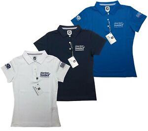 Footjoy FJ Golf Ladies Golf Polo Shirt - From the Ladies Scottish Open