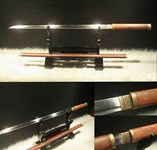 1060 Carbon Cteel Japanese Samurai Sword Ginsu Knives Katana Can ReduceTree#022