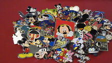 LOT of 25 DISNEY TRADING PINS_Fast  Free USPS Mail_No Duplicates_Misc. Assort.
