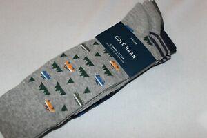 Cole Haan Mens Fashion Dress Socks Shoe Size 7-12 NWT 3-PACK
