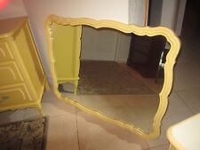 Vintage Henry Link French Provincial  Mirror Yellow Color