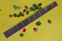 "1pcs Electric guitar Fretboard 24 fret 25.5"" rosewood nice inlay guitar parts#35"