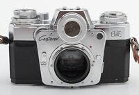 Zeiss Ikon Contarex Bullseye Kleinbild Spiegelreflexkamera Kamera