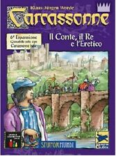 Carcassonne: Il Conte, il Re e L'Eretico, Espansione 6 - Gioco - Nuovo, Italiano