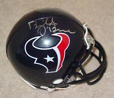 BILL O'BRIEN Signed/Autographed HOUSTON TEXANS Mini Helmet w/COA