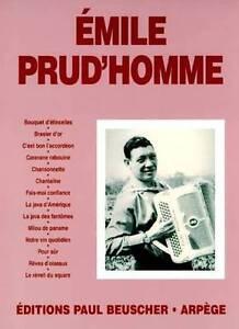 Partition pour accordéon - Emile Prud Homme