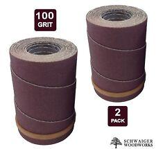 Drum Sander Sanding Wraps/Rolls, 100g for JET/Performax 16-32 & Ryobi WBS1600, 2