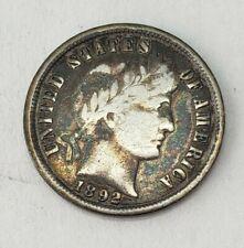 New listing Us 1892 Barber Dime! *Huge Coin Estate!*