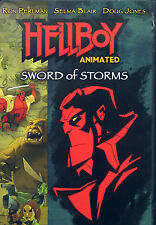 HELLBOY: SWORD OF STORMS - Animated DVD Movie + Comic *** Brand New & Sealed ***
