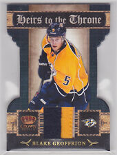 2011-12 Crown Royale Heirs To The Throne Materials Prime 9 Blake Geoffrion 36/50