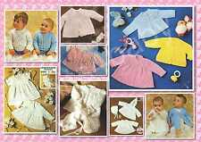 100+ Vintage BABY KNITTING PATTERNS ~ Gorgeous Selection