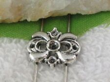 80pcs Tibetan silver 2 holes spacer beads FC10425
