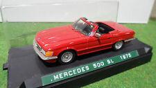 MERCEDES 500 SL 1975 Rouge au 1/43 CENTURY AMR voiture miniature