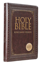 Holy Bible:KJV Large Print Thumb Index Edition : Brown (Leather, Large Type, 2013)