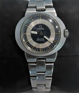 Omega Geneve Dynamic Swiss Made Ladies Stainless Steel Watch