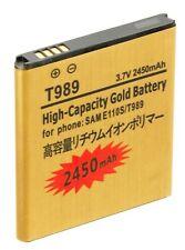 2450mAh Gold Battery EB-L1D7IBA for Samsung Galaxy S2 T989 T989D I727