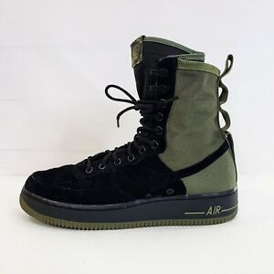 NEW Nike SF Air Force 1 High 'Olive' Camo Sneakerboot 864024-004 Men's 9 Special