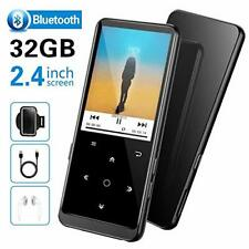 """32GB MP3 Player, SUPEREYE MP3 Music Players with Bluetooth 4.2, 2.4"""" Large"""