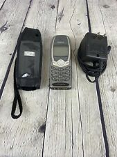 Nokia 6340i Cell Phone Vintage Gold Cingular Very Good Used With Case & Charger
