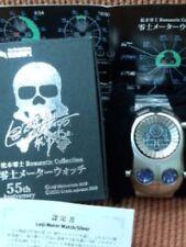 SEAHOPE Leiji Matsumoto 55th Anniversary Leiji Meter Watch Silver RMSV Men's F/S