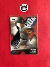 2020 Topps Series 1 Baseball DECADE OF DOMINANCE DIE CUT # DOD-18 Nolan Ryan