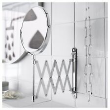 IKEA Extending Makeup Magnifying Shaving Mirror Magnifying Make 2 Sided Make Up