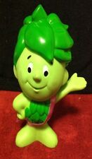 Jolly Green Giant Little Sprout Rubber Vinyl Figure with RARE Pasta Accents Sash