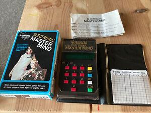 Invicta Electronic Master Mind handheld game 1977 RARE!!!