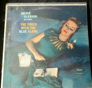 """JACKIE GLEASON THE TORCH WITH THE BLUE FLAME W-961 LP 12"""" VINYL RECORD"""