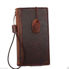 Genuine Natural leather case for LG G3 id Window 3 Credit Card slots Slim Design