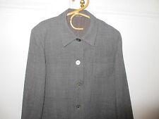 Veste ou sur chemise Cyrillus grise motif Prince de GallesT 38 en très bon état!