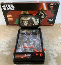 Disney Tabletop Pinball Machine Star Wars The Force Awakens Game Works
