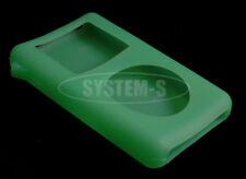 System-S Silikon Skin Hülle grün für Apple iPod 4 Gen