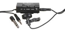 QTX Mini Stereo Tie Clip/lapel Condenser Microphone