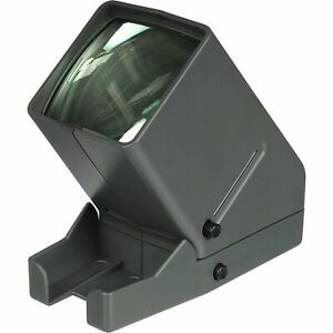 Medalight 35mm LED Desk Top Slide Viewer with 3x Magnification and Glass Lens