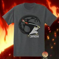 New Cartoon Network Samurai Jack Classic Logo Mens T-Shirt