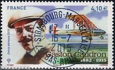Poste Aérienne PA n° 79 de 2015 Gaston Caudron  oblitéré cachet rond LUXE