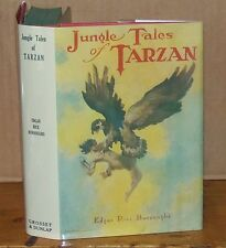 Jungle Tales of Tarzan. Edgar Rice Burroughs.1919. Grosset & Dunlap. Signed.