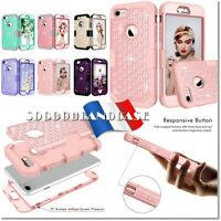 Etui coque housse Fashion shockproof HYBRID Case Cover iPhone 7, 7+,8 ou 8+ plus