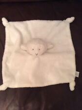 Mini Club Boots White Lamb Sheep Teddy Baby Comforter Comfort Blanket Soft Toy