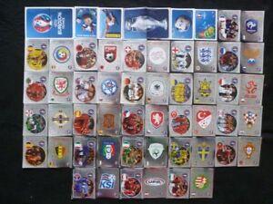 PANINI UEFA EURO 2016 France STICKERS sticker Belgium coca cola E poland poster