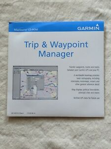 Garmin MapSource Trip and Waypoint Manager CD Version 5.00, NEW