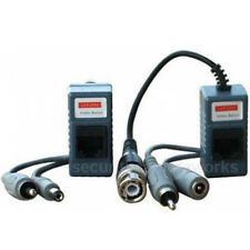 one Pair Video Balun Network Transceiver with Audio Power Connectors CCTV bpn