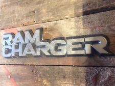 DODGE RAM CHARGER DECAL