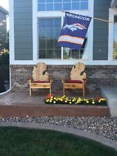 Cedar Michigan Adirondack two-Chair Set