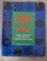 GIOCHI DA TUTTO IL MONDO - 2000 E PIU' GIOCHI 5000 DISEGNI - FABBRI 1976 (KU)