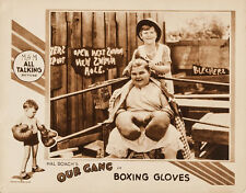 """Little Rascals Our Gang Boxing Gloves Lobby Card Replica 14 x 11"""" Photo"""