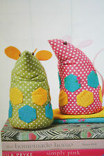 Mouse, Mice Toy Bookends Sewing Pattern
