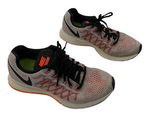 Nike Air Zoom Pegasus 32 Womens US8 UK5.5 EU39 Grey Orange Athletic Running Shoe